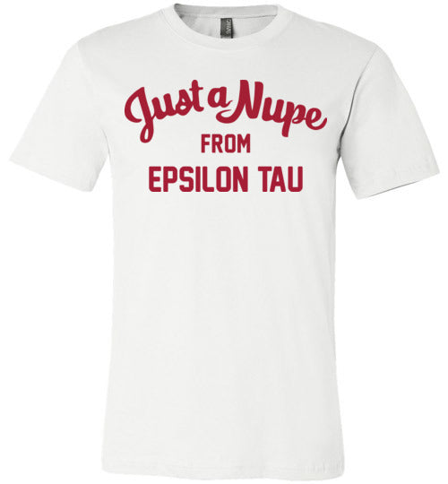 Epsilon Tau Short Sleeve (C)