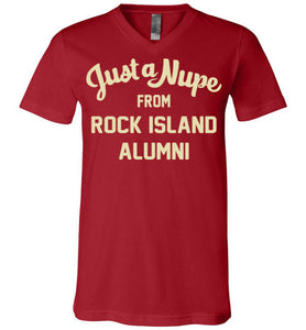 Rock Island Alumni V-Neck