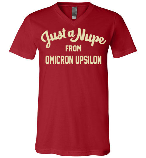 Omicron Upsilon V-Neck