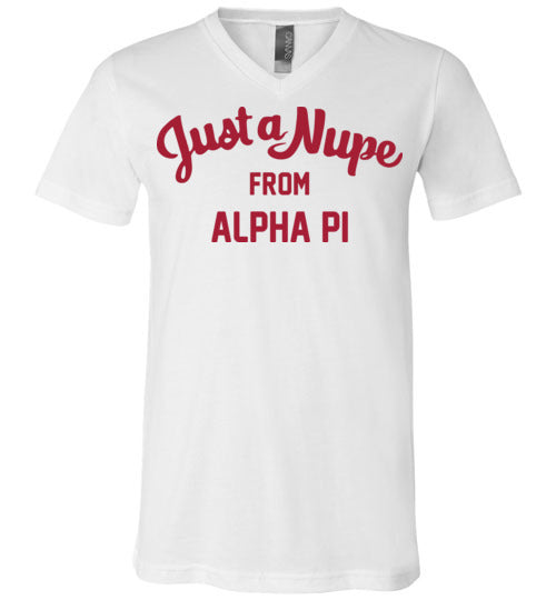 Alpha Pi V-Neck (C)