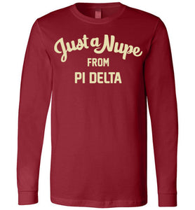 Pi Delta Long Sleeve