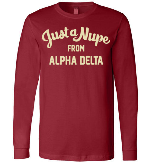 Alpha Delta Long Sleeve