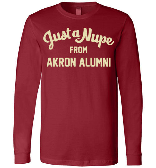 Akron Alumni Long Sleeve