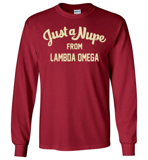 Lambda Omega Long Sleeve