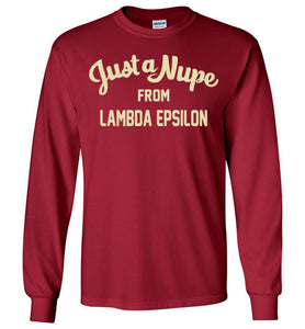 Lambda Epsilon Long Sleeve