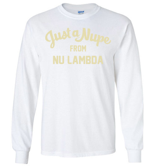 Nu Lambda Long Sleeve (C)