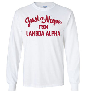 Lambda Alpha Long Sleeve (C)