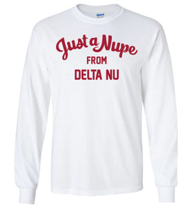 Delta Nu Long Sleeve (C)