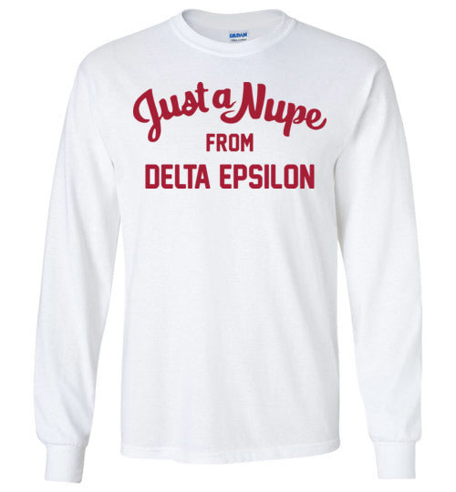 Delta Epsilon Long Sleeve (C)