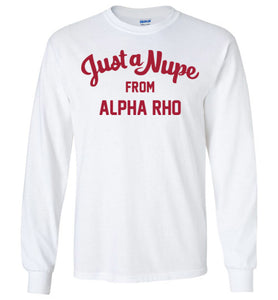 Alpha Rho Long Sleeve (C)
