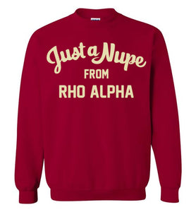 Rho Alpha Crewneck