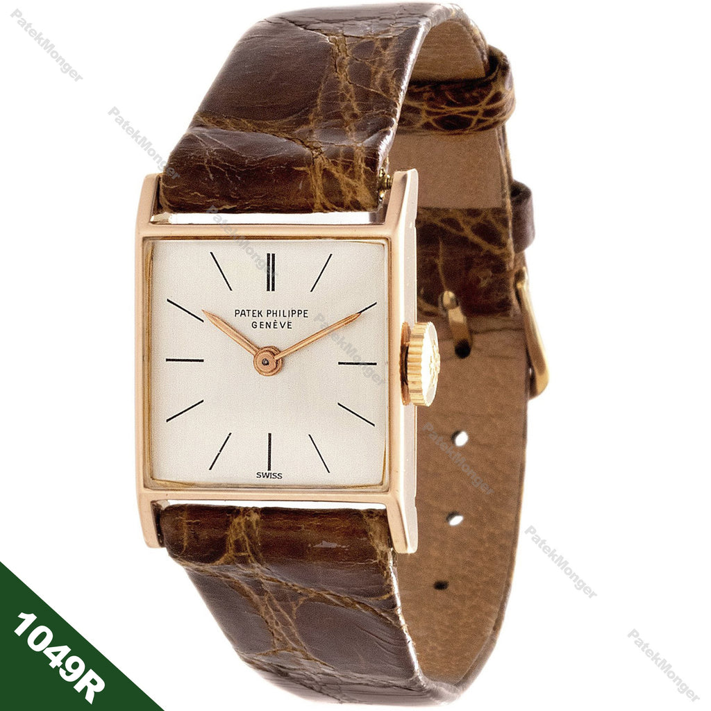 Patek Philippe 1049R Vintage Ladies Square Watch circa 1947