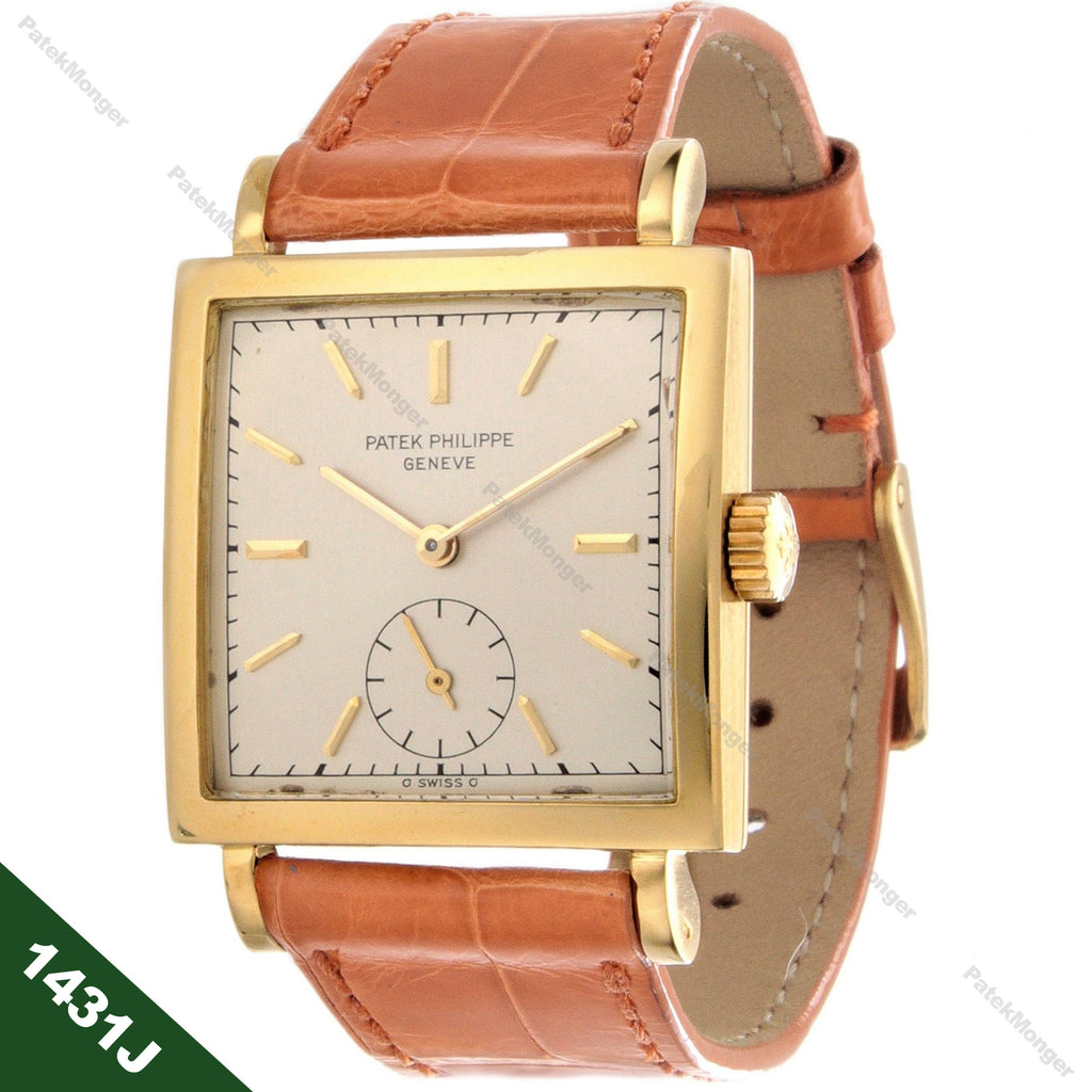 Patek Philippe 1431J Square Watch circa 1948