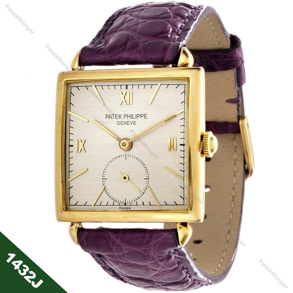 Patek Philippe 1432J Art Deco Watch circa 1944
