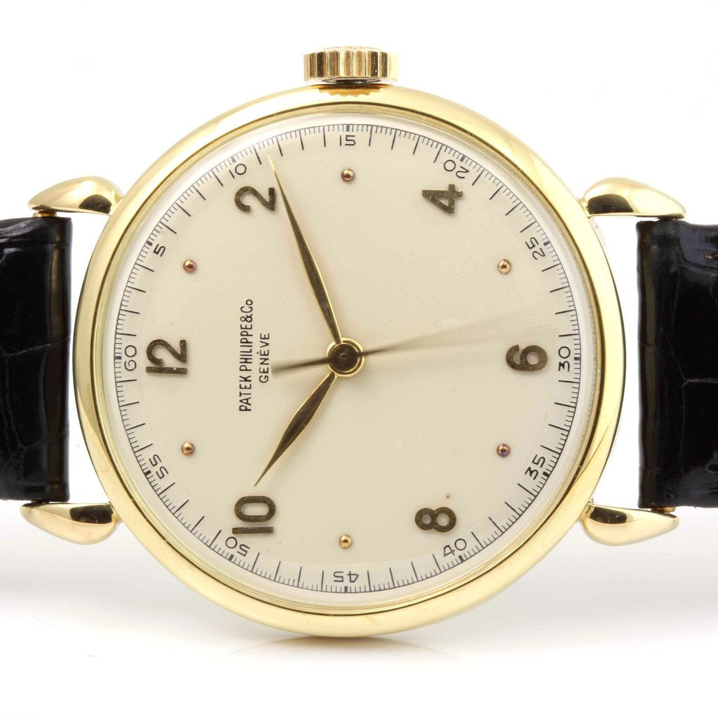 Patek Philippe 1509J Tear Drop Lug Case Calatrava Watch