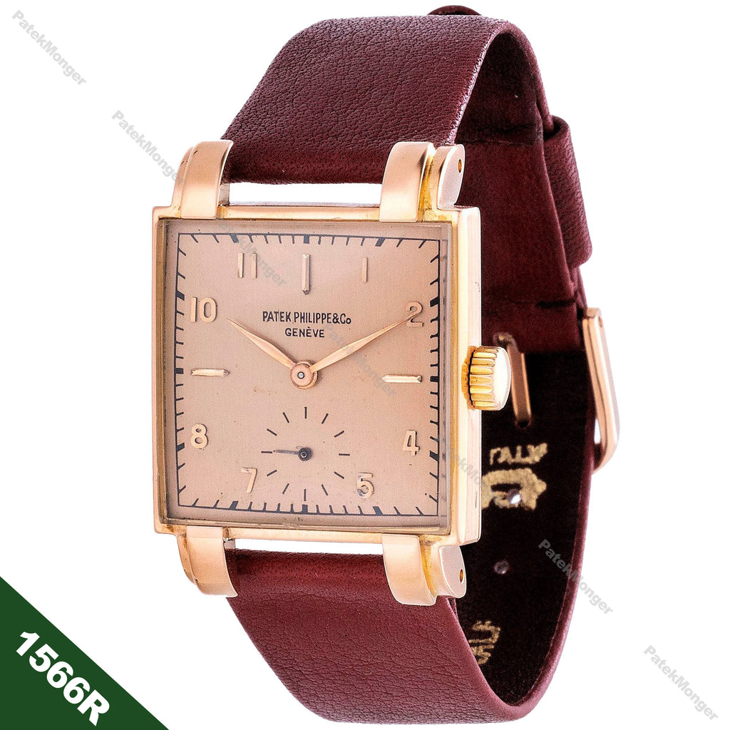Patek Philippe 1566R Square Watch circa 1947