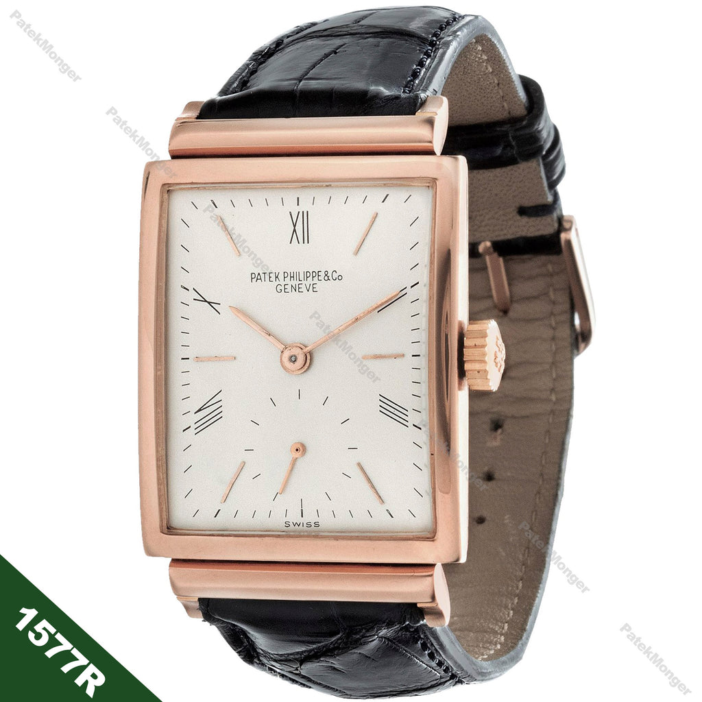 Patek Philippe 1577R Rectangular Watch circa 1949