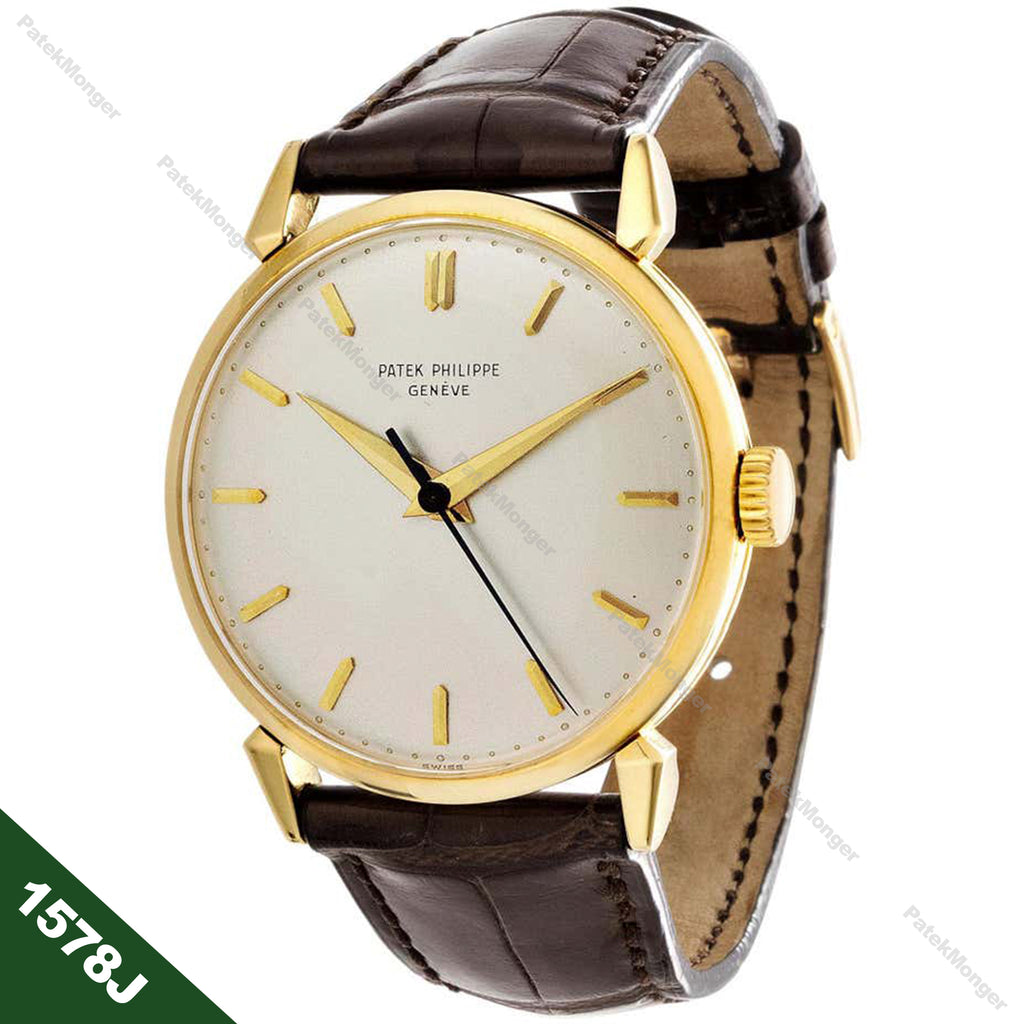 Patek Philippe 1578J Calatrava Watch circa 1955