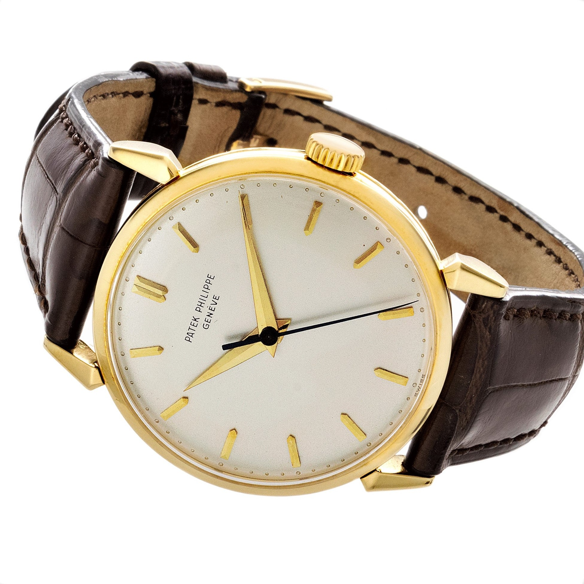 Patek Philippe 1578J Large Calatrava Watch