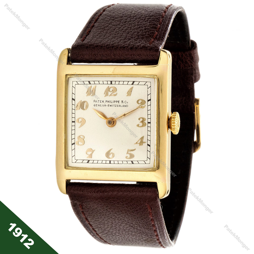 Patek Philippe Early Art Deco Watch circa 1912
