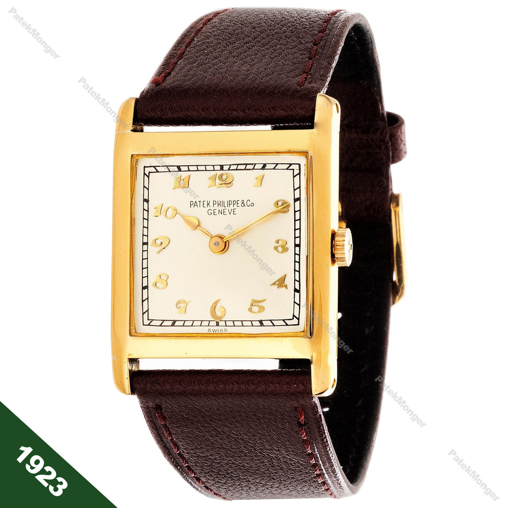 Patek Philippe Early Art Deco Watch circa 1923