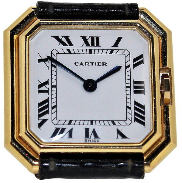 Vintage Cartier Paris Centure Medium Watch