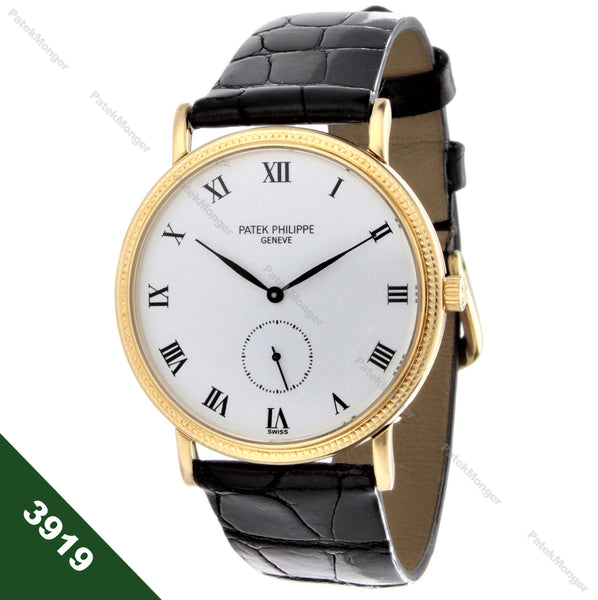 Patek Philippe 3919J Classic Calatrava 1st Series Watch