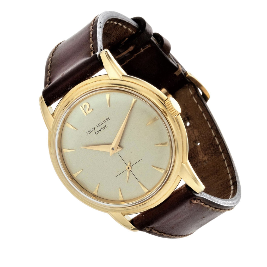 Patek Philippe 2525J Screw Down Back Calatrava Watch Circa 1957