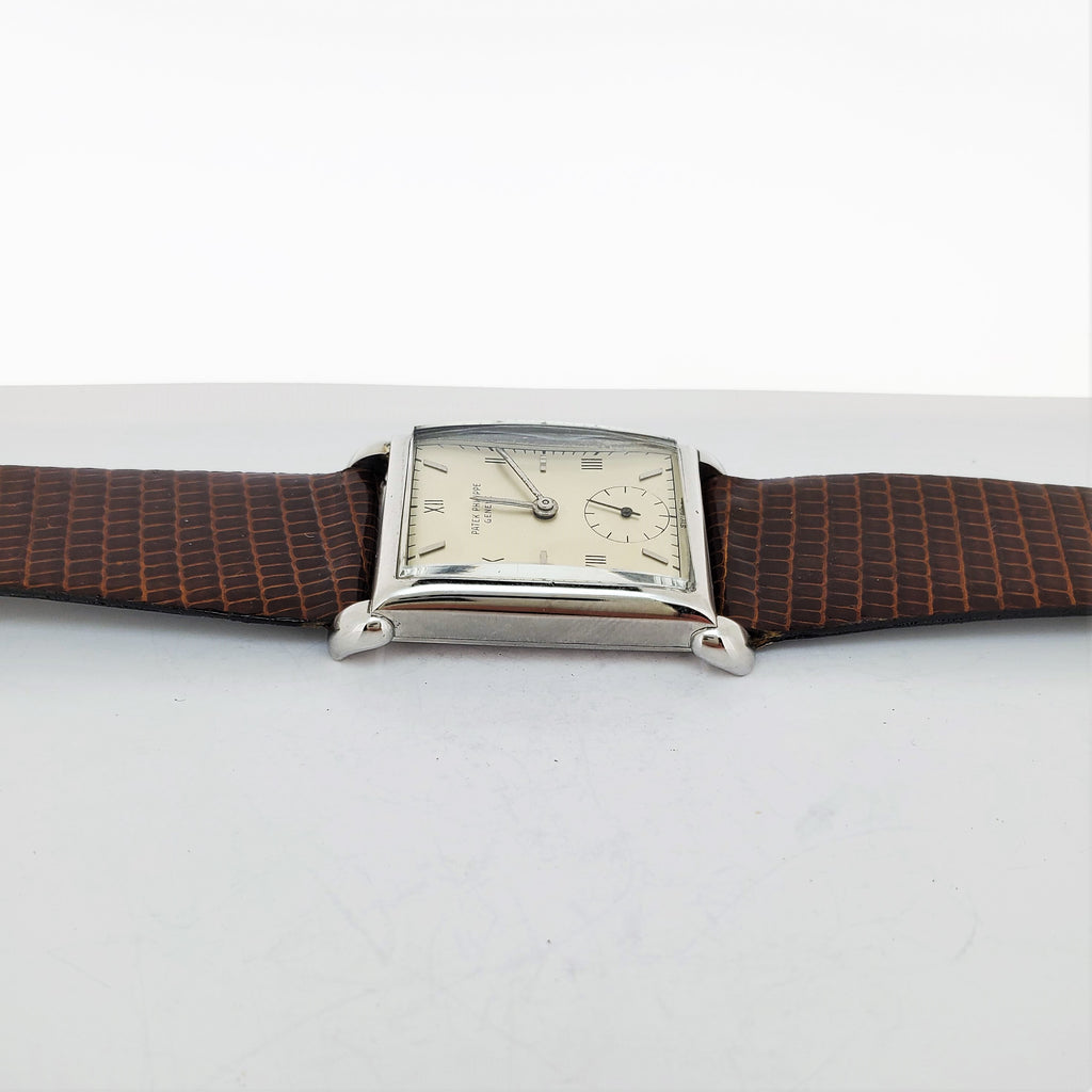 Patek Philippe 1530A Rectangular Watch circa 1948