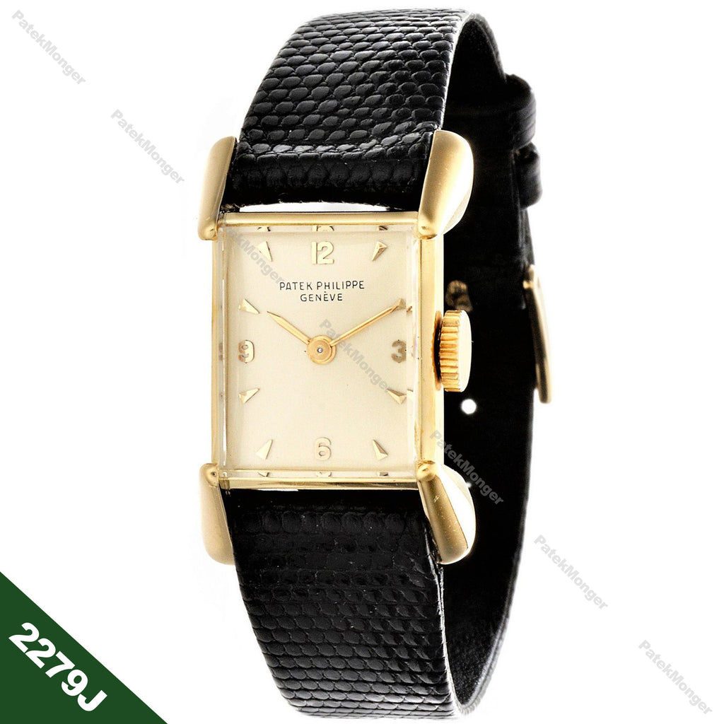 Patek Philippe 2279J Ladies Vintage Rectangular Watch circa 1955