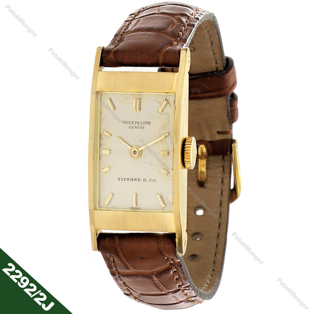 Patek Philippe 2292/2J Ladies Vintage Tegolino Watch circa 1960's