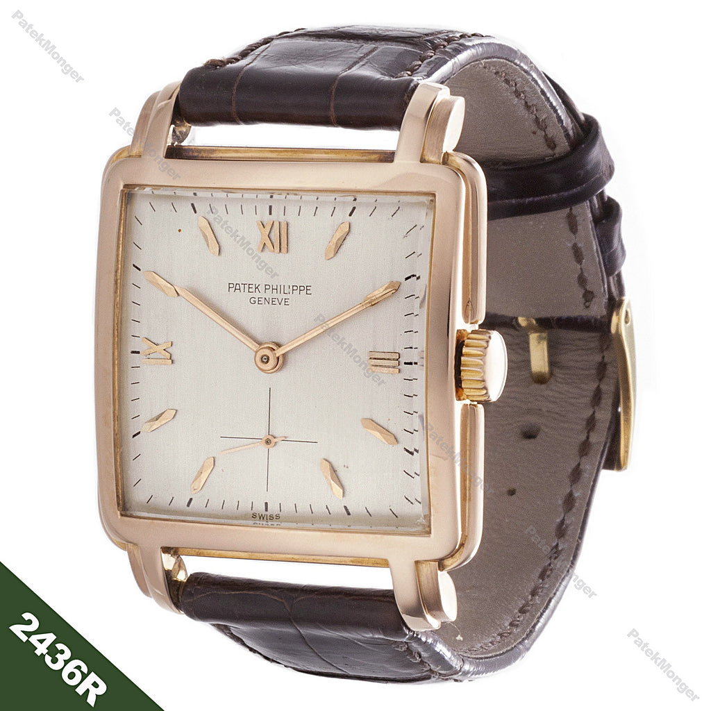 Patek Philippe 2436R Square Watch circa 1952