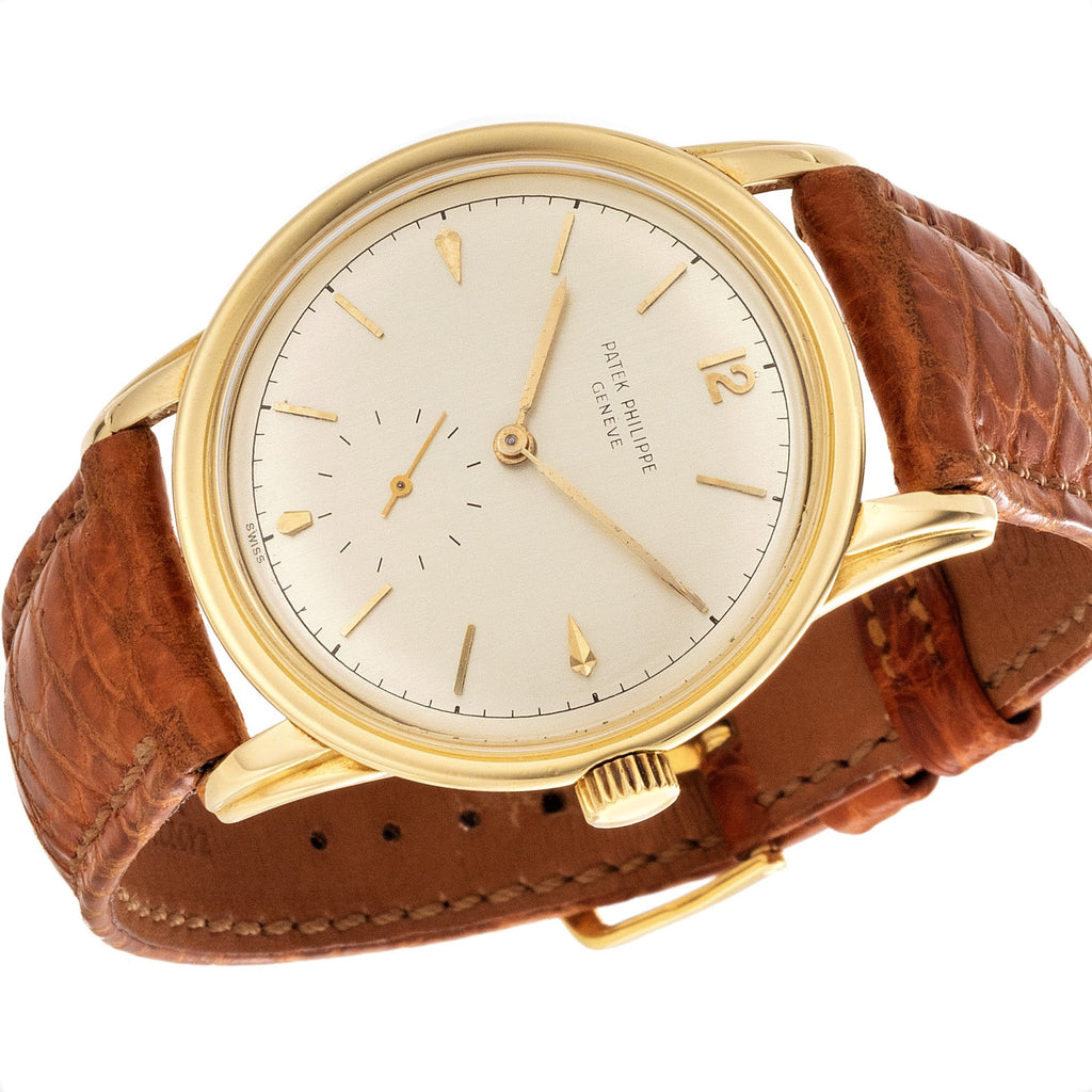 Patek Philippe 2452J Calatrava Watch
