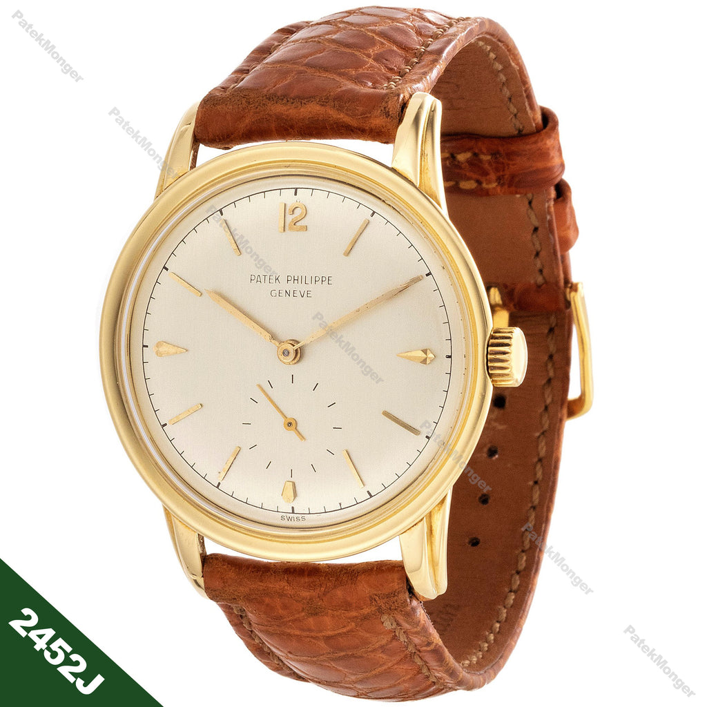 Patek Philippe 2452J Calatrava Watch circa 1951