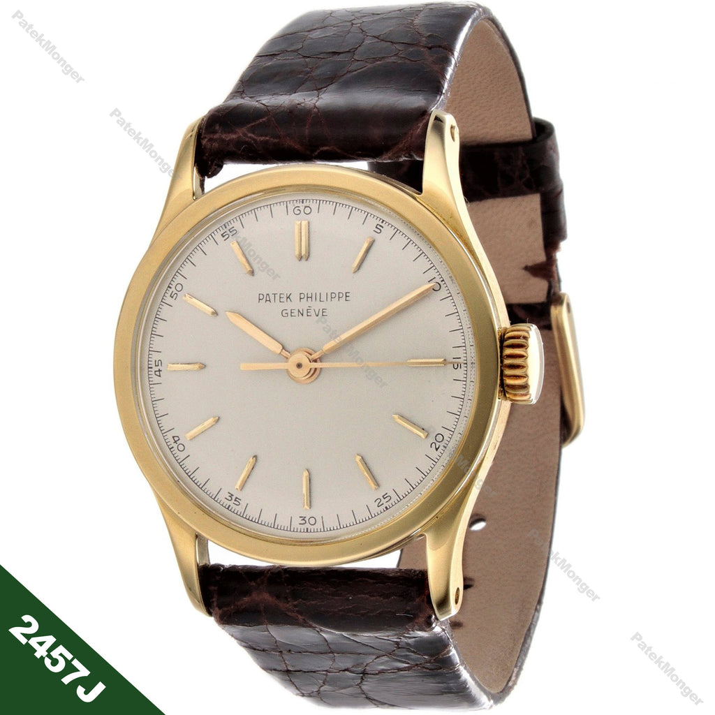 Patek Philippe 2457J Calatrava Watch circa 1957