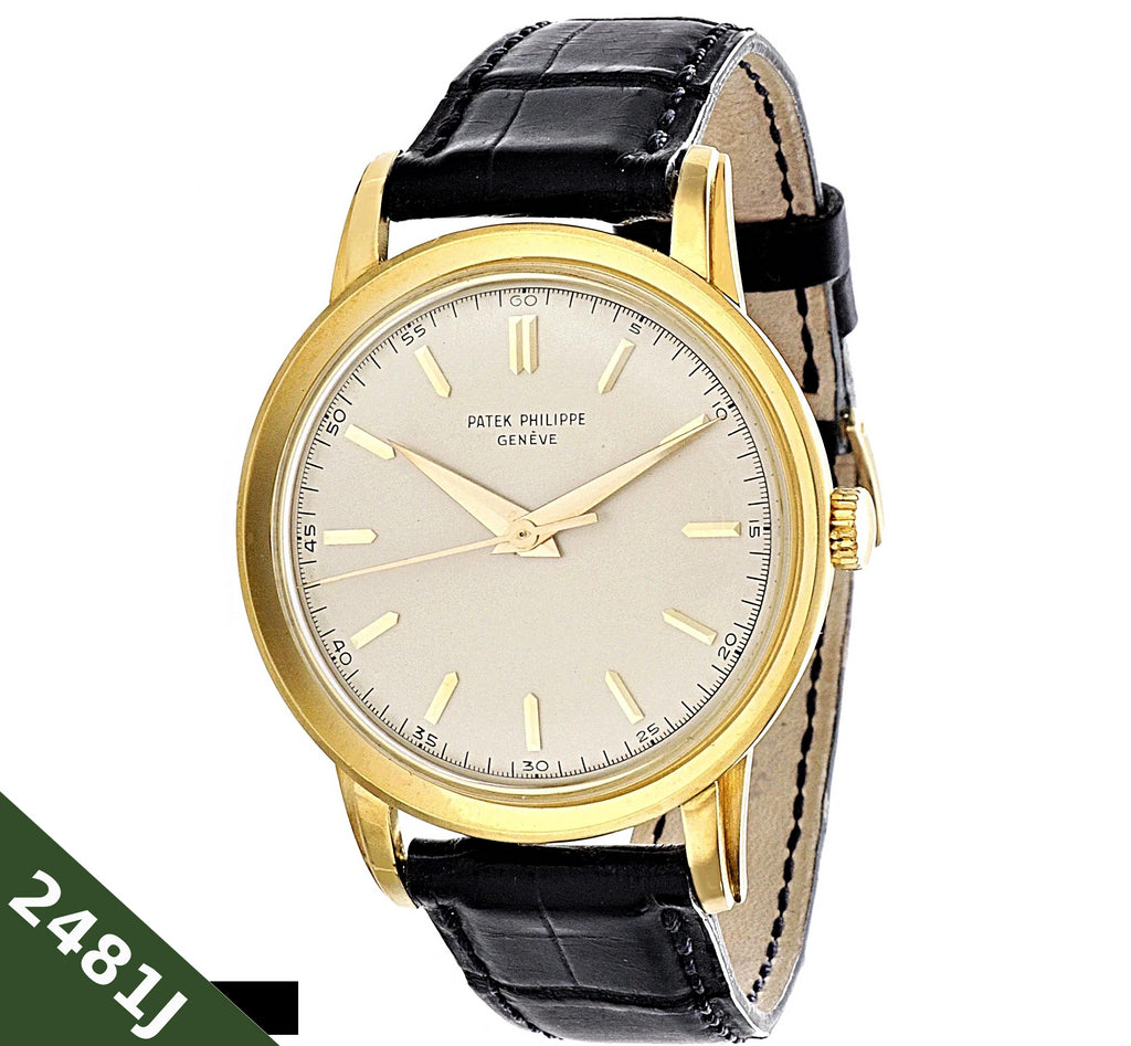 Patek Philippe 2481J Oversized Calatrava Watch circa 1955