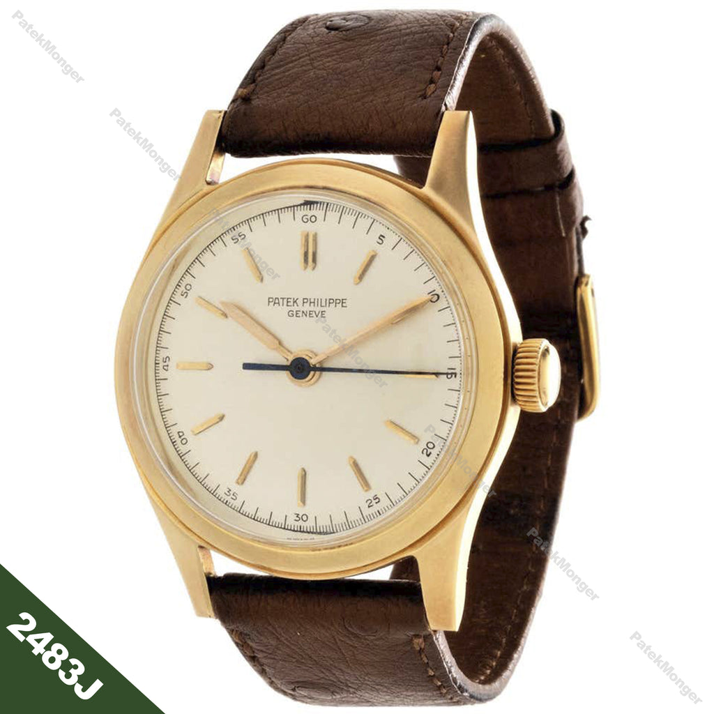 Patek Philippe 2483J Calatrava Watch circa 1953