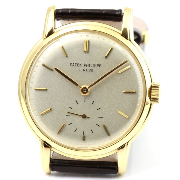 Patek Philippe 2484J Calatrava Watch
