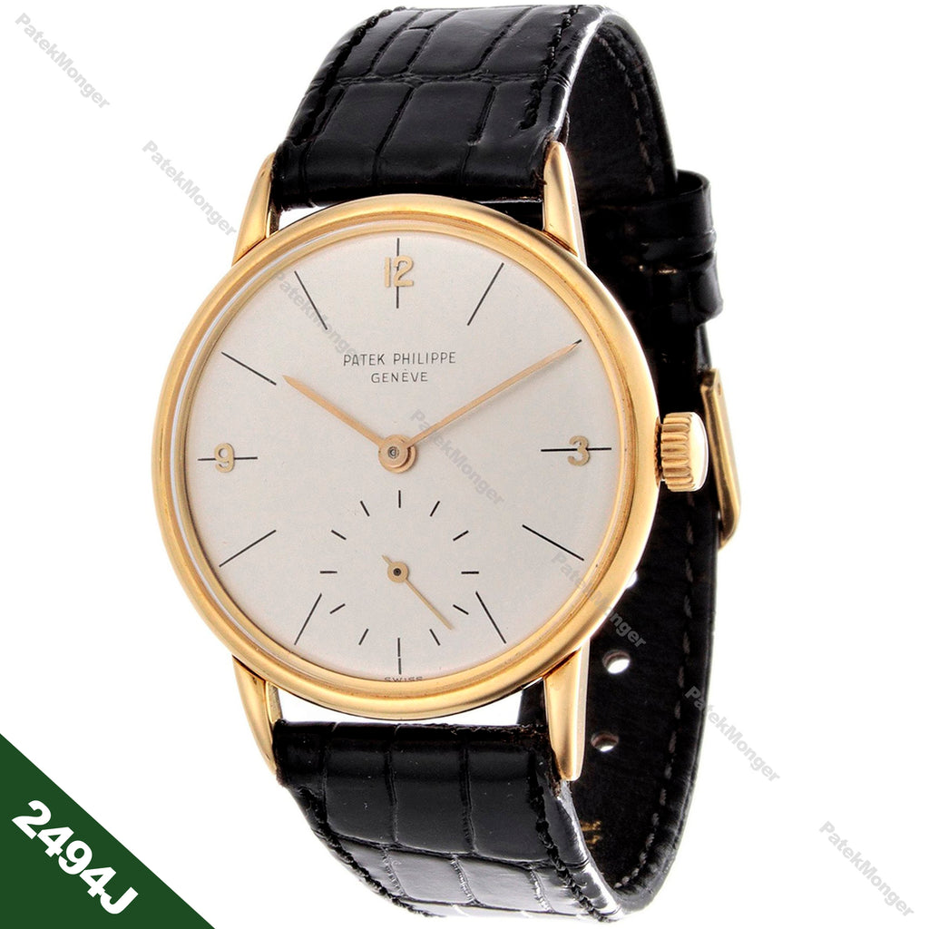 Patek Philippe 2494J Calatrava Watch circa 1954