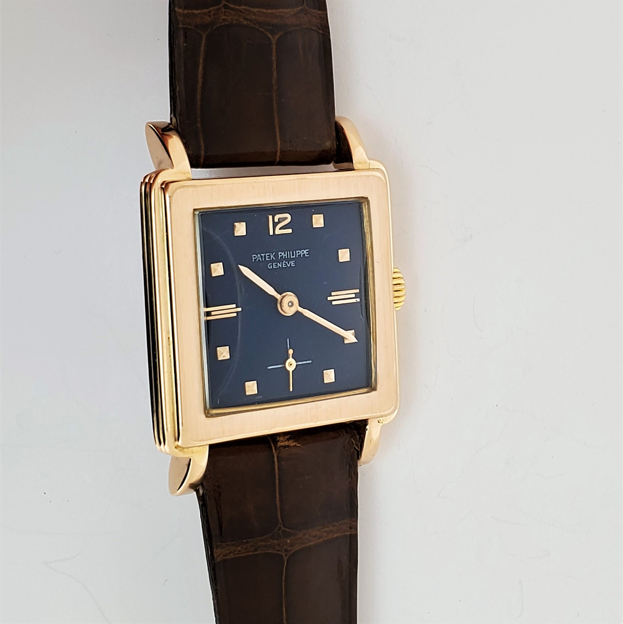Patek Philippe 2529R With Patek Bracelet Watch Circa 1953