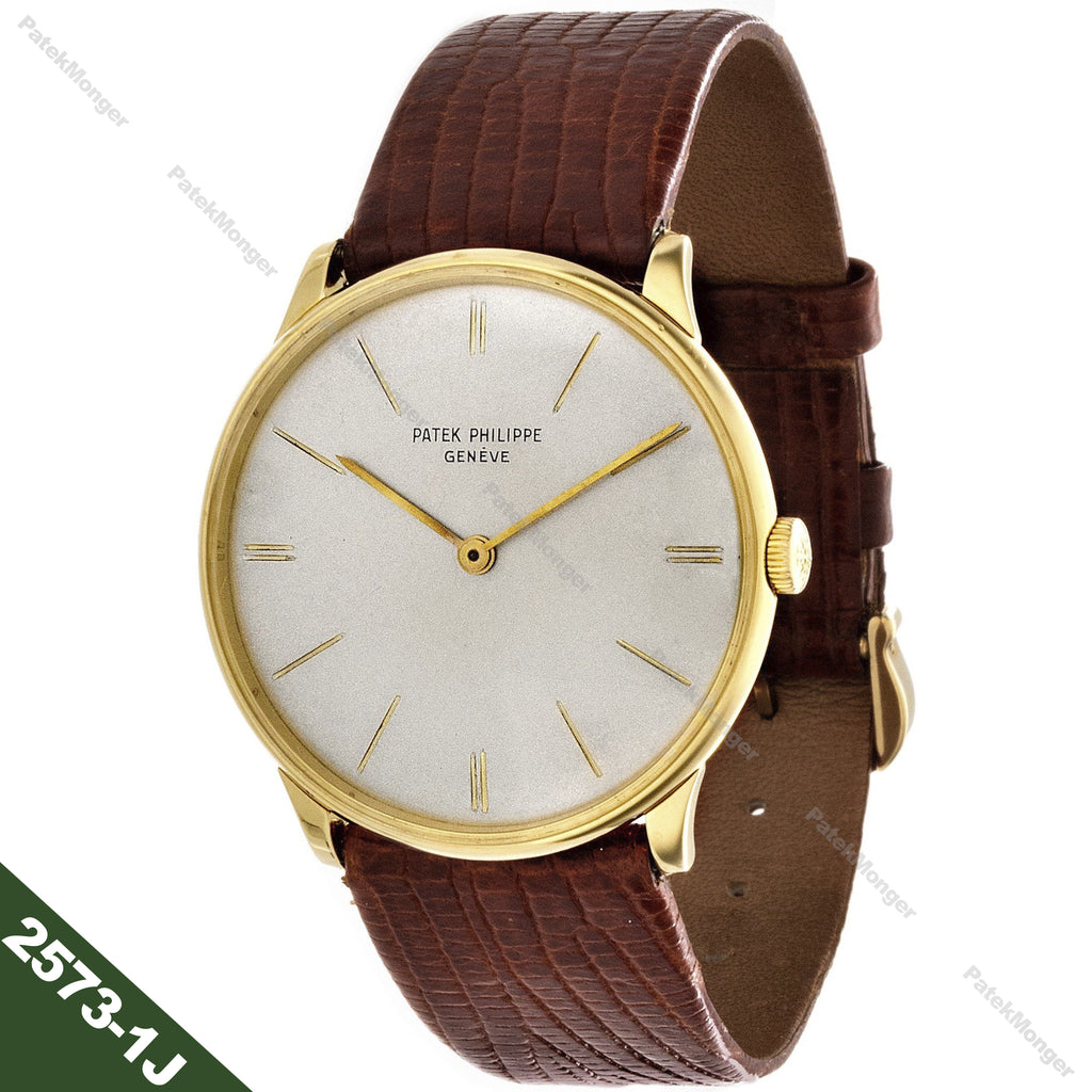Patek Philippe 2573-1J Calatrava Watch circa 1965