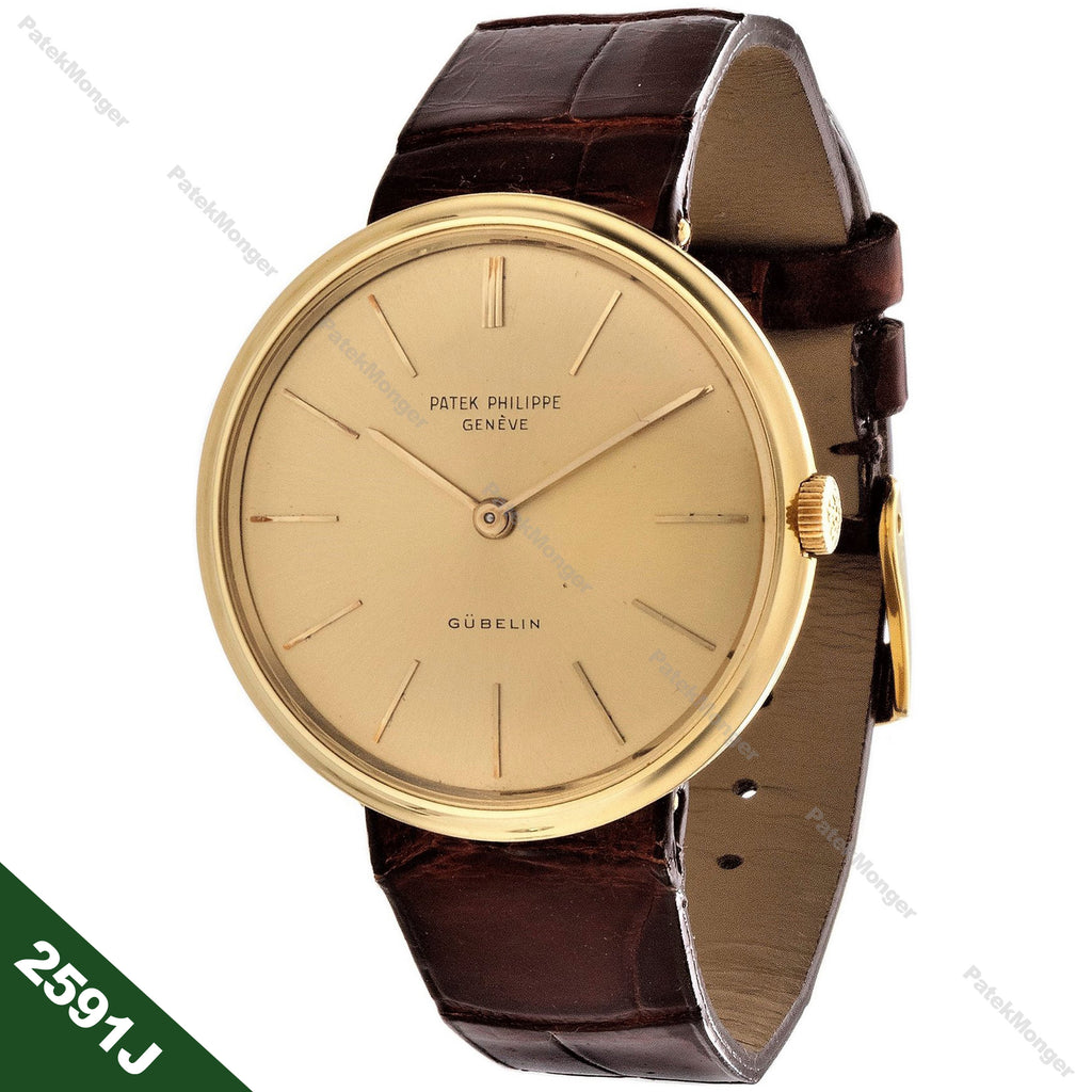 Patek Philippe 2591J Calatrava Watch circa 1958