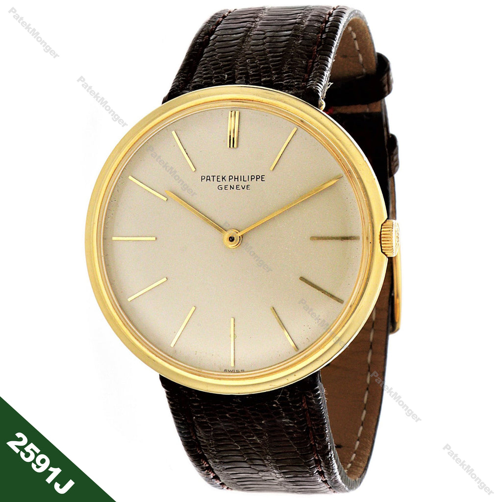 Patek Philippe 2591J Calatrava Watch circa 1962