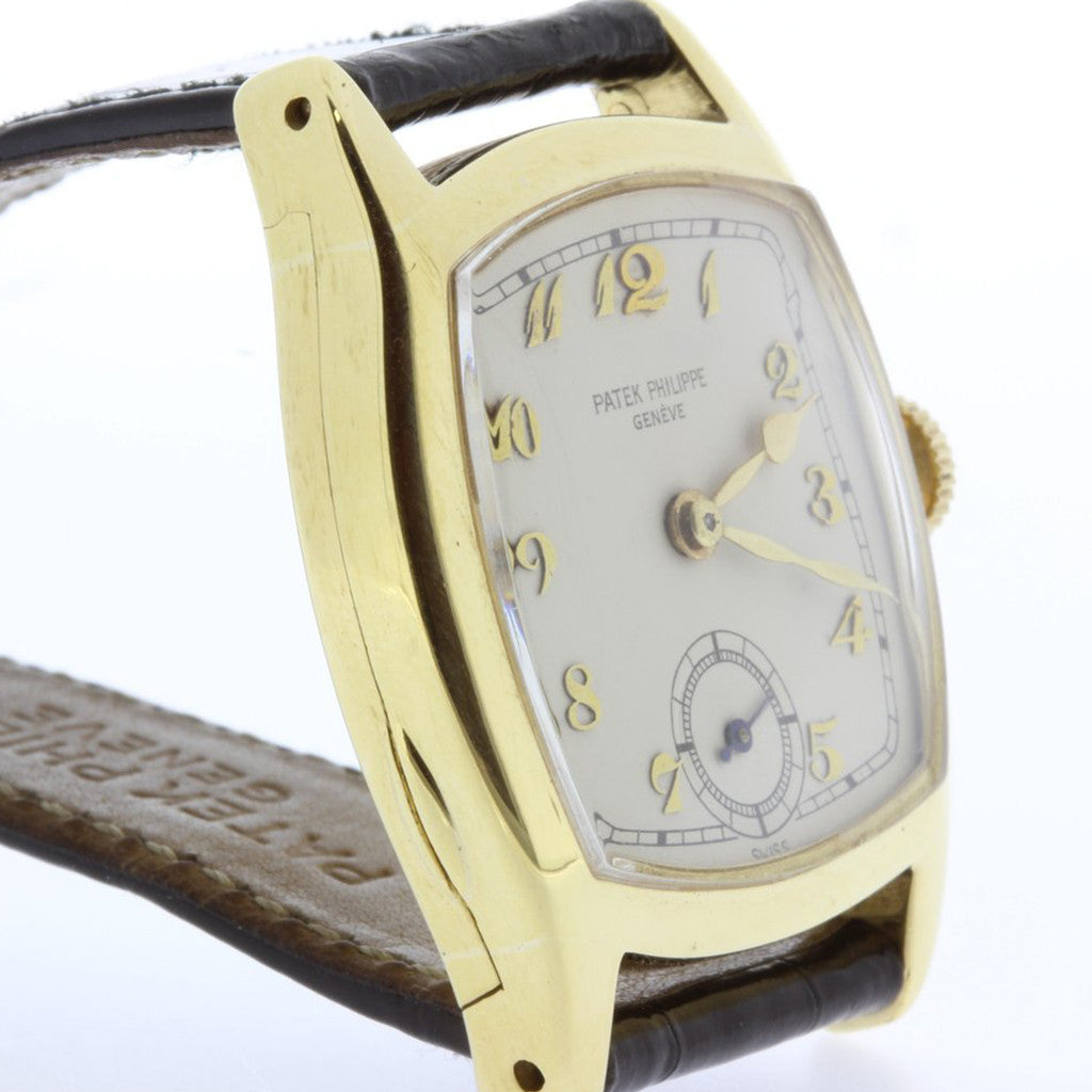 Patek Philippe Early 1920's Art Deco Watch.  Circa 1927