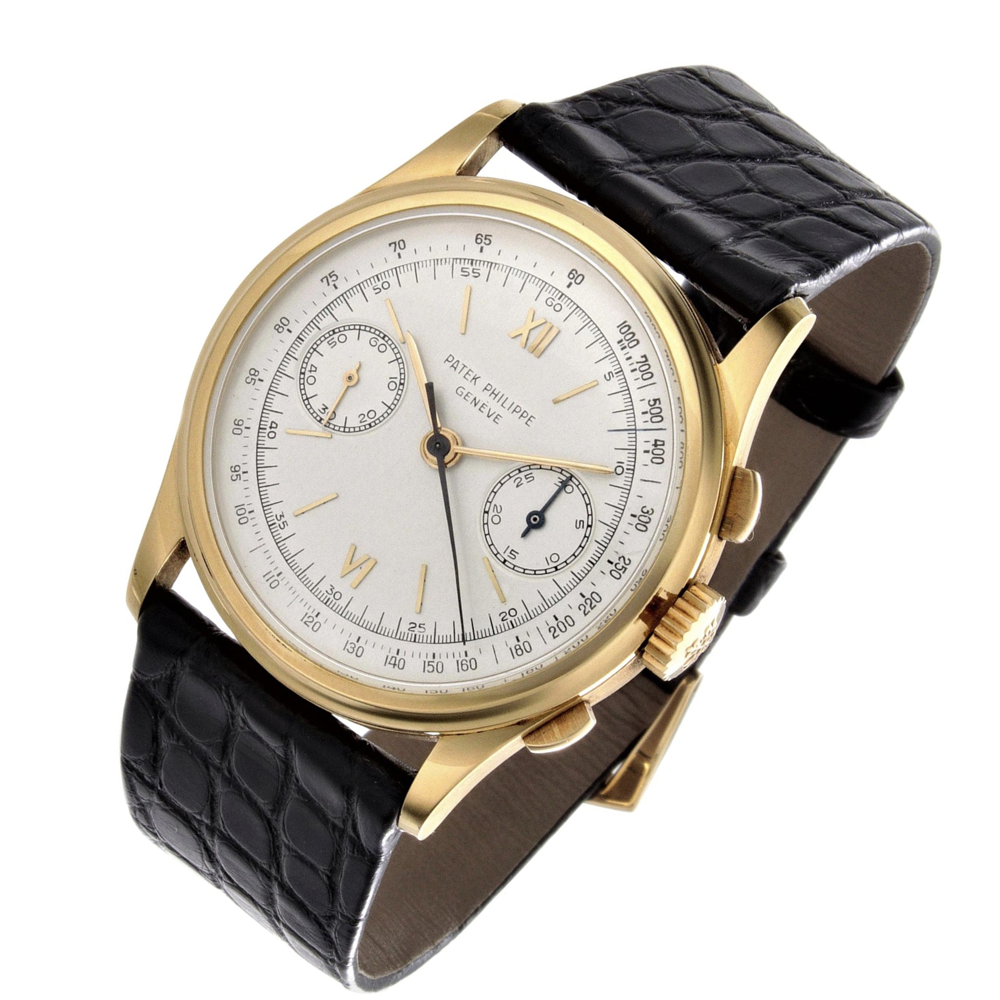 Patek Philippe 530J Jumbo Chronograph Watch Circa 1946