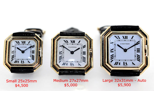 Vintage Cartier Paris Centure Collection