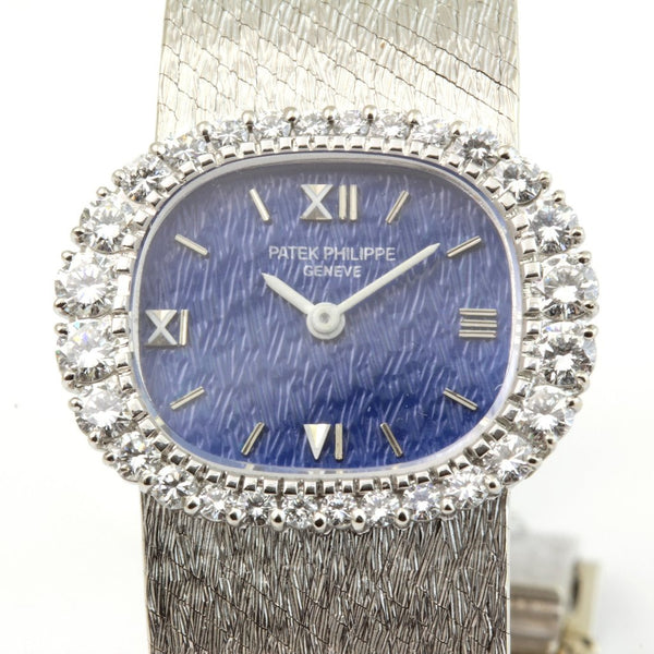 Patek Philippe 3394/1G Ladies Diamond Watch