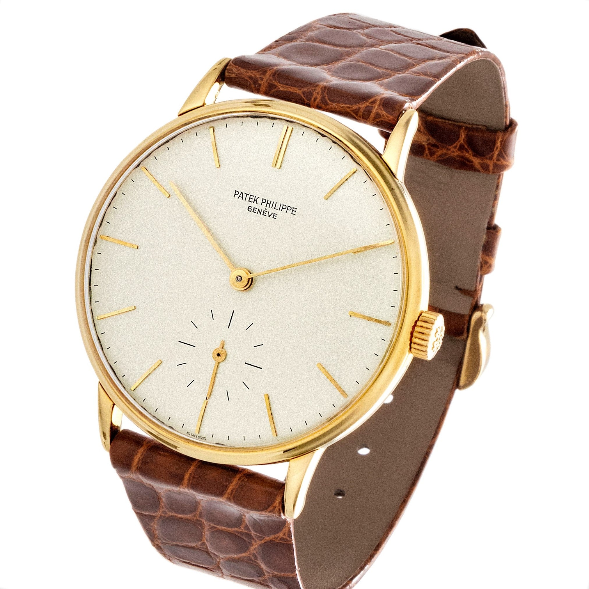 Patek Philippe 3410J Calatrava Watch