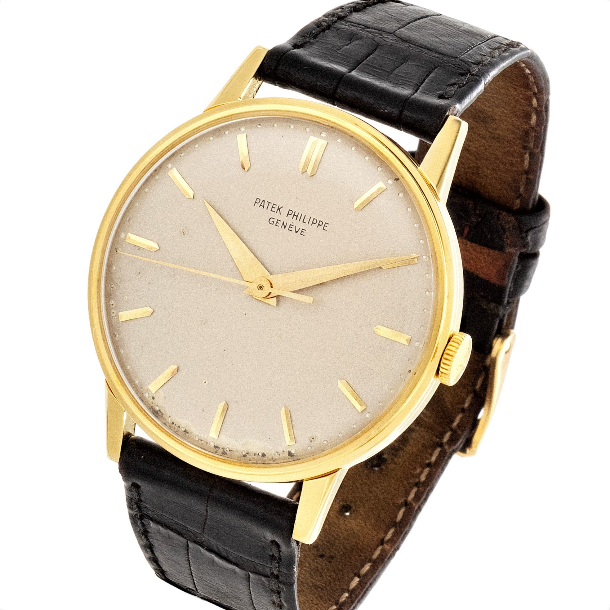 Patek Philippe 3411J Calatrava Watch