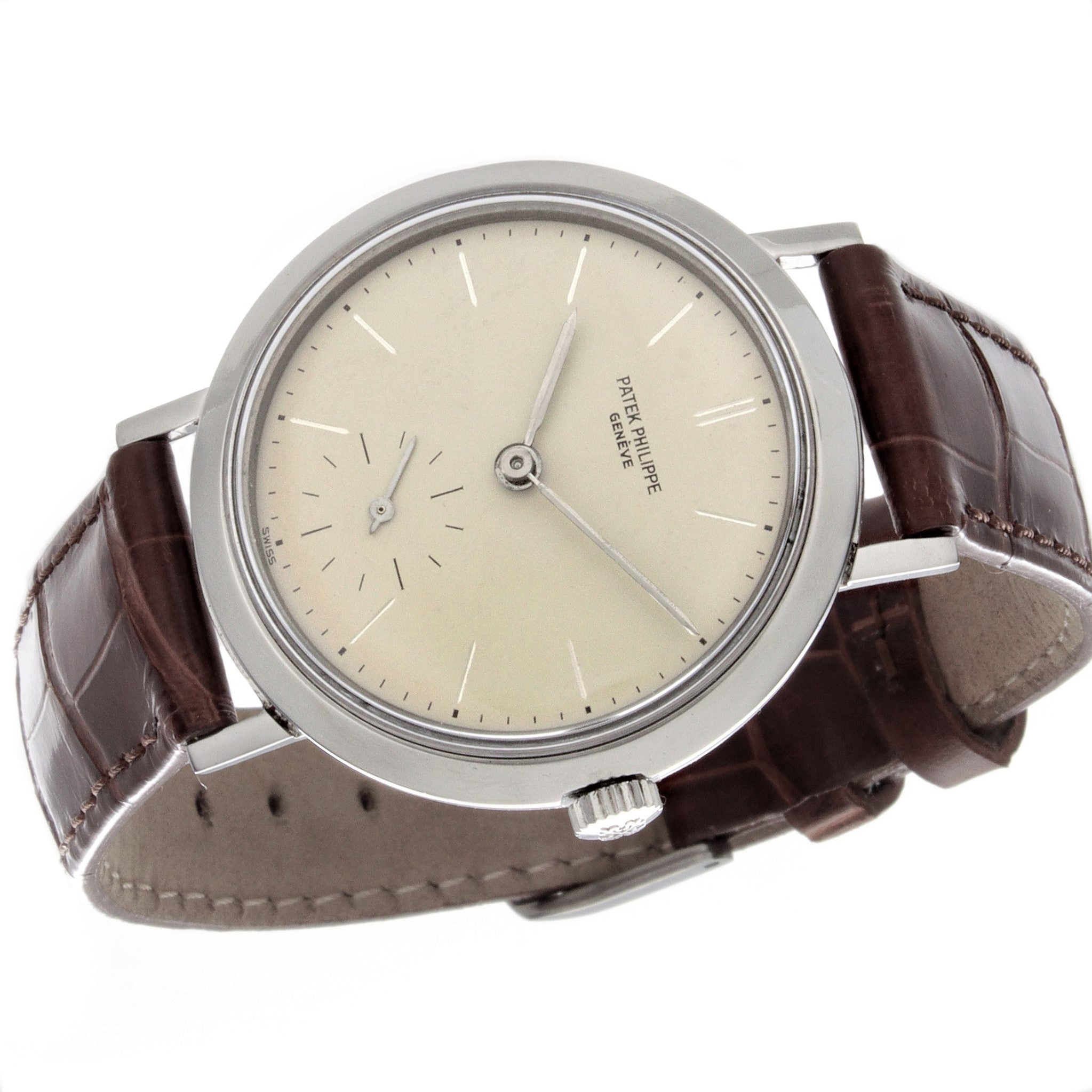 Patek Philippe 3419A  Vintage Stainless Steel Calatrava with a Amagnetic Circa 1962